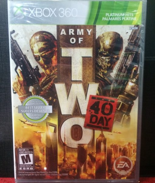 360 Army of Two 40th Day game