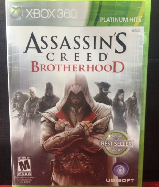 360 Assassins Creed Brotherhood game