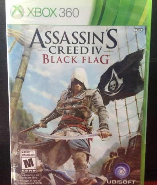 360 Assassins Creed IV Black Flag game