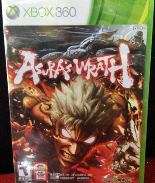 360 Asuras Wrath game