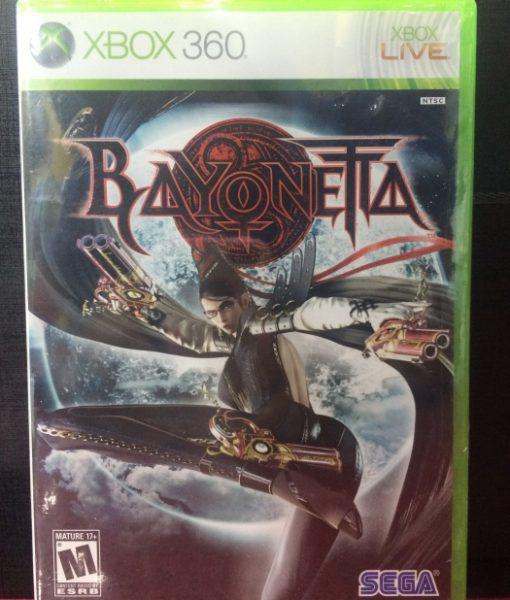 360 Bayonetta game