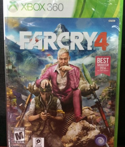 360 FarCry 4 game