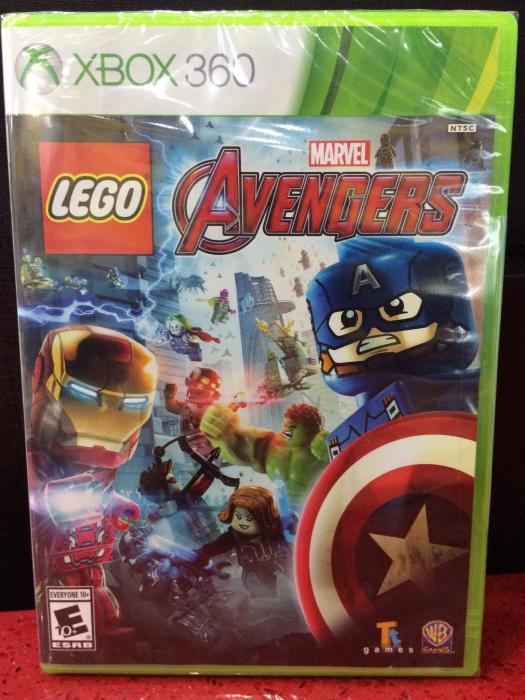 360 Lego Marvel Avengers Gamestation