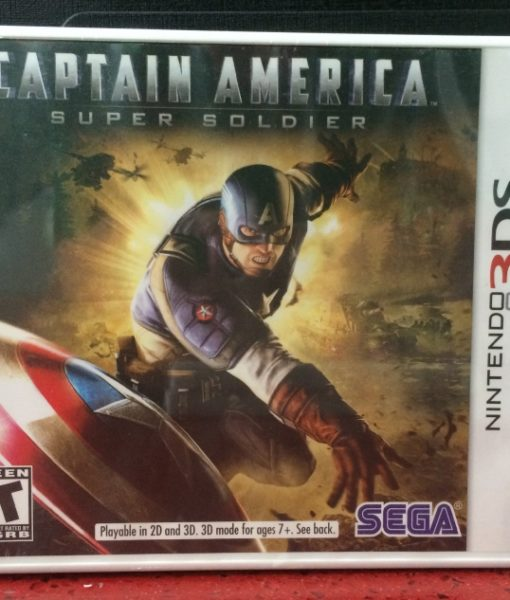 3DS Captain America game
