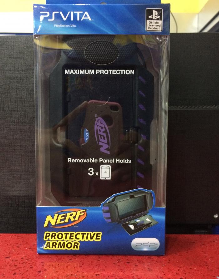 Ps Vita Nerf Protective Morado Armor Gamestation