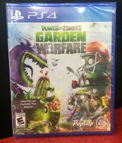 Ps4 Plants Vs Zombies Garden Warfare Gamestation