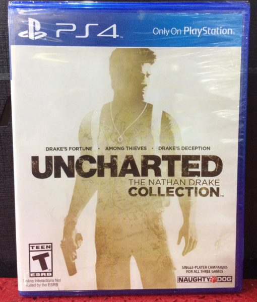PS4 Uncharted The Nathan Drake Collection game