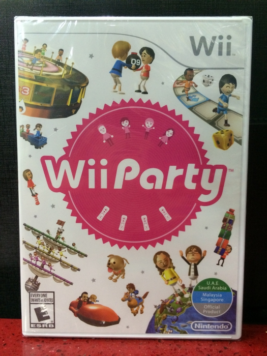 Wii Party Gamestation