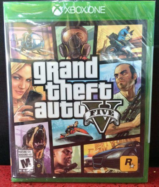 Xone Grand Theft Auto V game