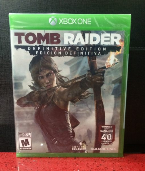 Xone Tomb Raider game