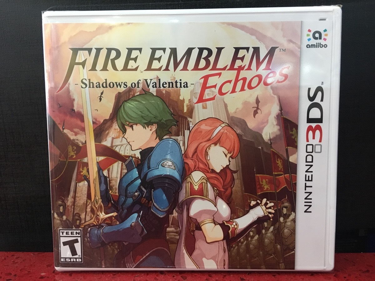 3ds Fire Emblem Valentia Echoes Gamestation 3dsfire Shadow Of Game