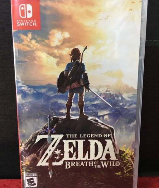 NSW Zelda Breath of The Wild game