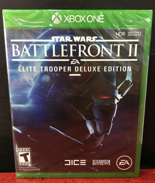 Xone Star Wars Battlefront II Deluxe game