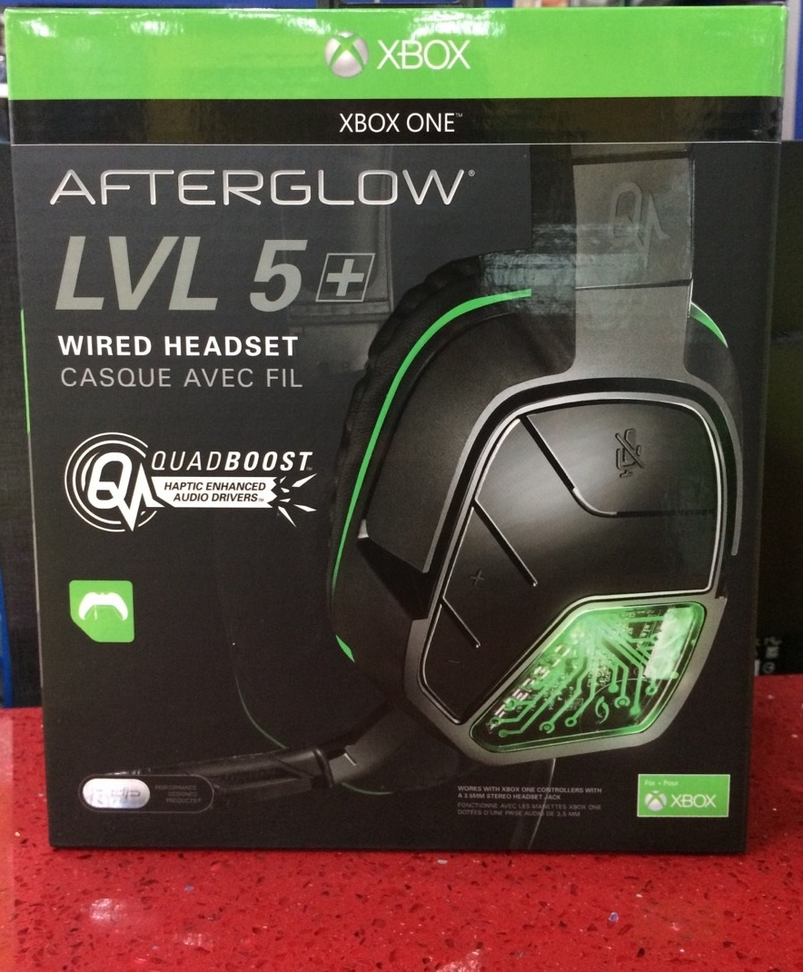 Xbox One Headset Alambrico LVL5 Afterglow pdp – GameStation