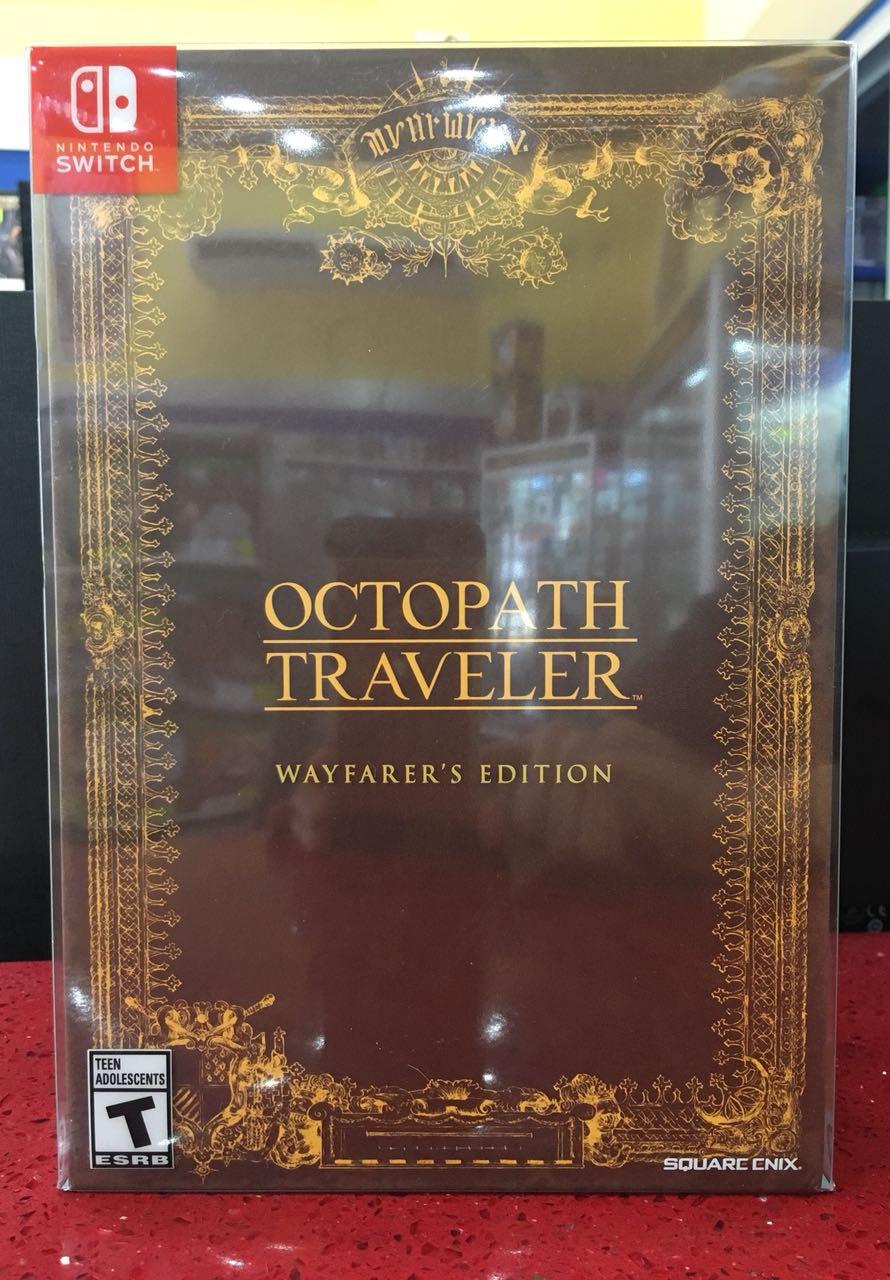 octopath traveler wayfarers edition (switch)