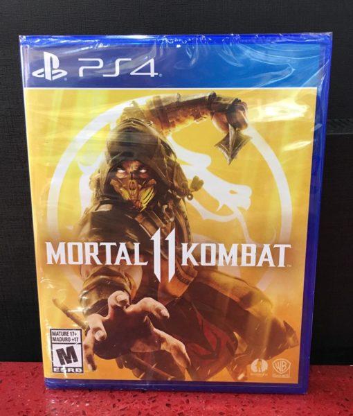 PS4 Mortal Kombat 11 game
