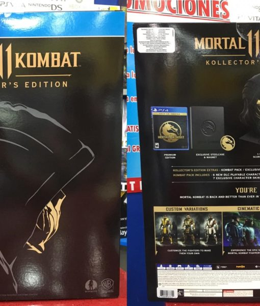PS4 Mortal Kombat 11 Kollector's Edition game