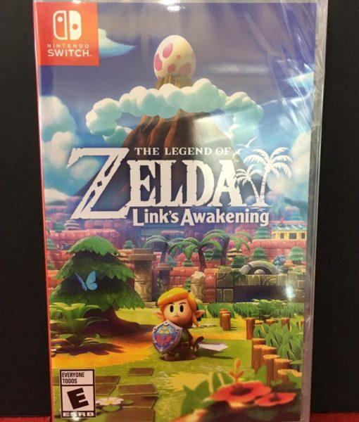 NSW Zelda Link's Awakening game