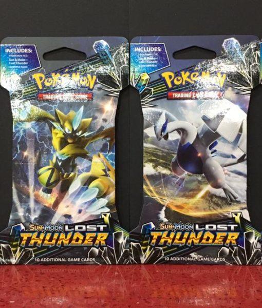 Tarjetas Pokemon Sun Moon Lost Thunder 10 Pack