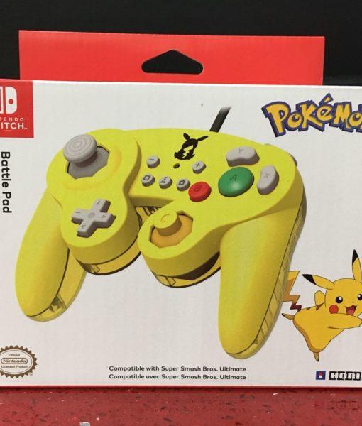 NSW item Control Battle Pad Pikachu HORI