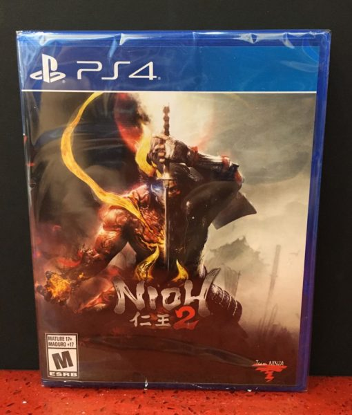 PS4 Nioh 2 game
