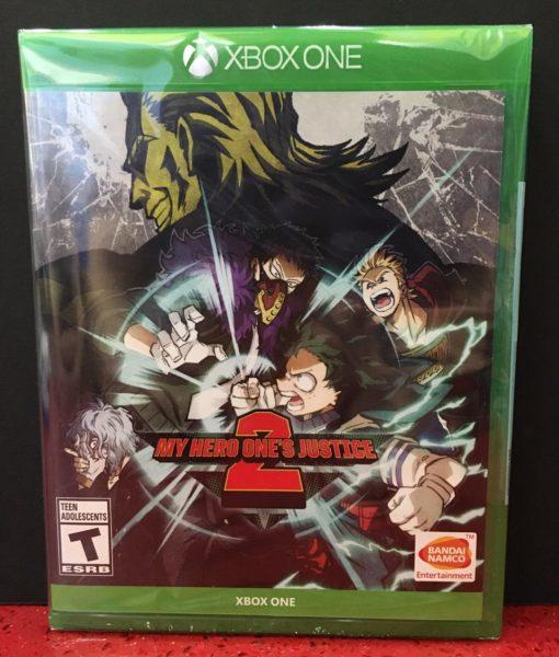 XONE My Hero One's Justice 2 game