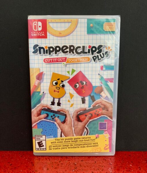 NSW Snipper Clips Plus Cut it out Together game