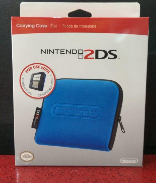 2DS Carrying Case Blue Azul Nintendo