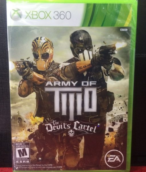 360 Army of Two Devils Cartel game