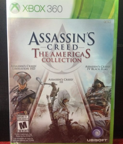360 Assassins Creed Americas Collection game