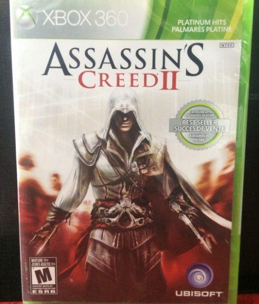 360 Assassins Creed II game
