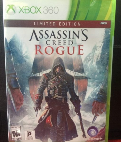 360 Assassins Creed Rogue game
