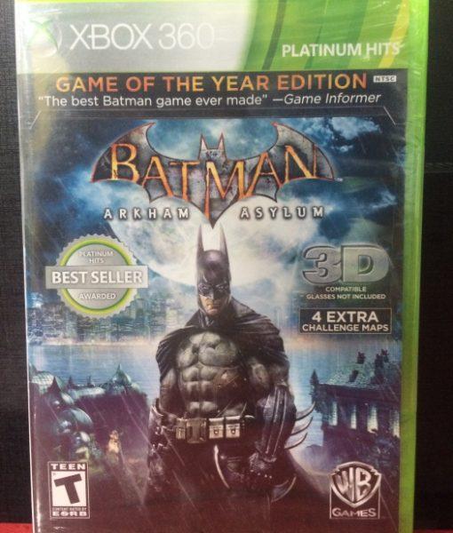 360 Batman Arkham Asylum game