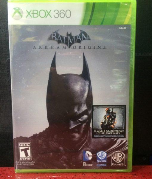360 Batman Arkham Origins game
