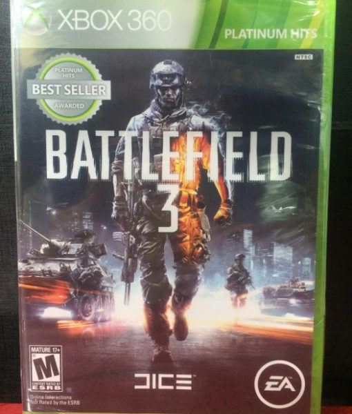 360 Battlefield 3 game