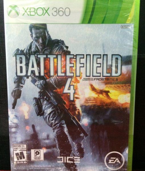 360 Battlefield 4 game