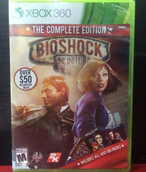 360 BioShock Infinite game
