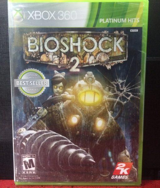 360 Bioshock 2 game