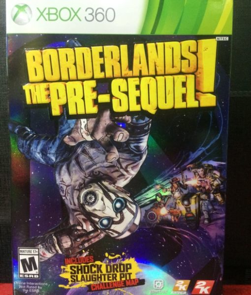 360 BorderLands The PreSequel game