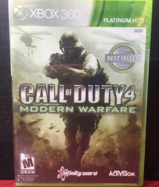 360 Call of Duty 4 Modern Warfare game