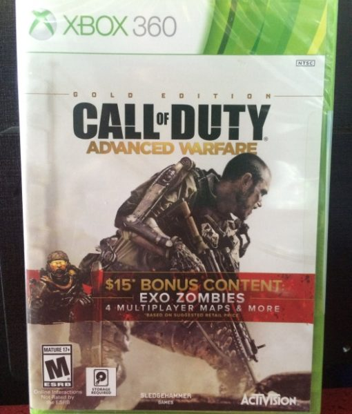 360 Call of Duty Advanced Warfare GOLD game
