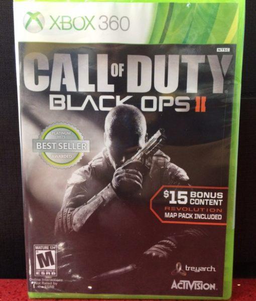 360 Call of Duty Black Ops II game
