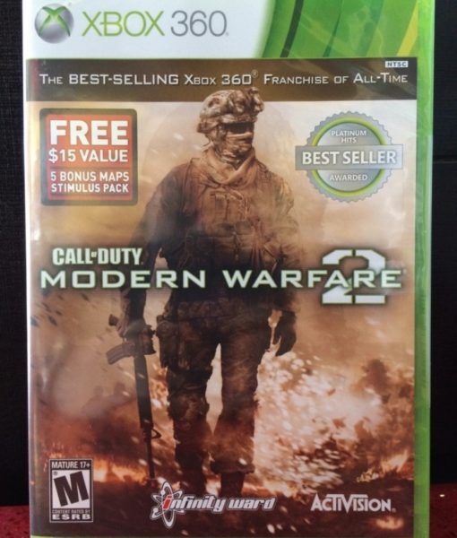 360 Call of Duty Modern Warfare 2 game