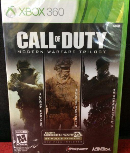 360 Call of Duty Modern Warfare Trilogy game