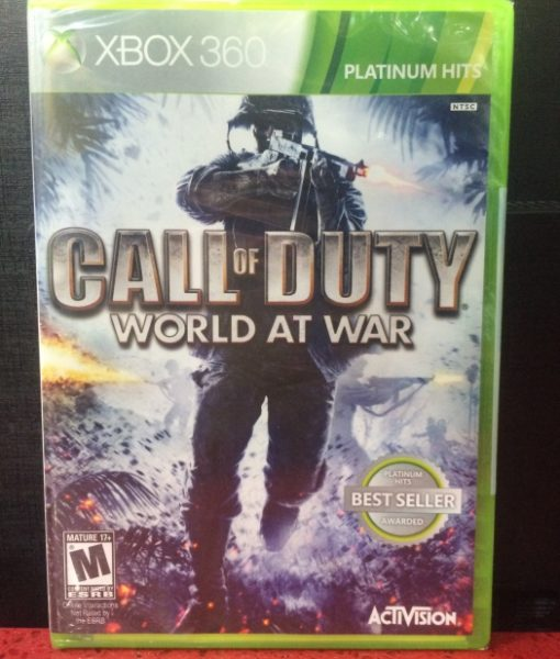 360 Call of Duty World at War game