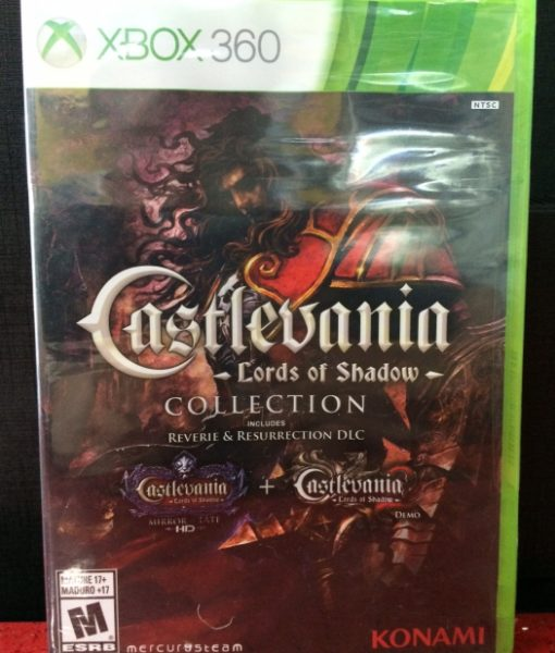 360 Castlevania Lords of Shadow Collection game