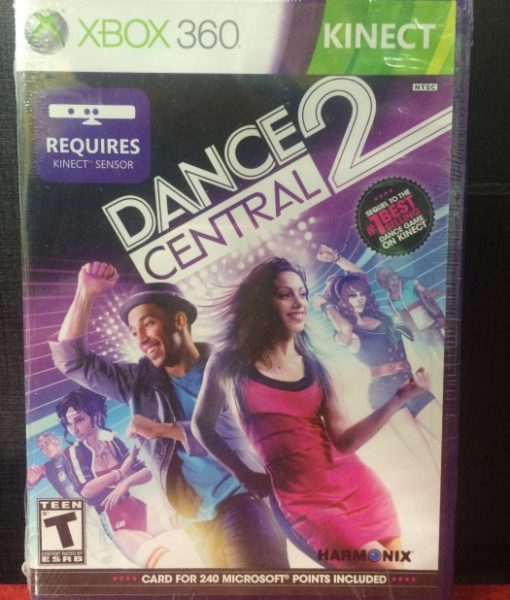 360 Dance Central 2 Kinect game
