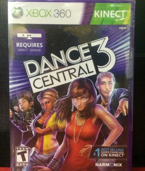 360 Dance Central 3 game