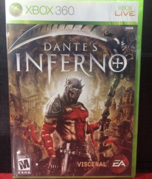 360 Dantes Inferno game