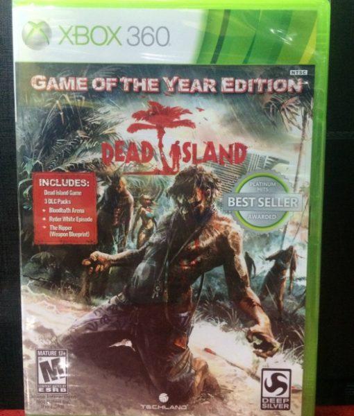 360 Dead Island Game Year